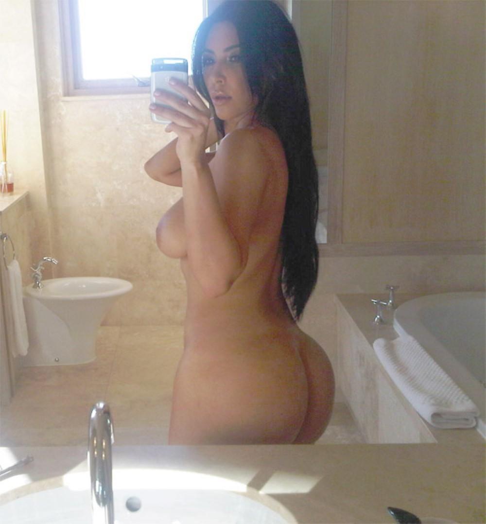 Kim Kardashian leaked ass private photo