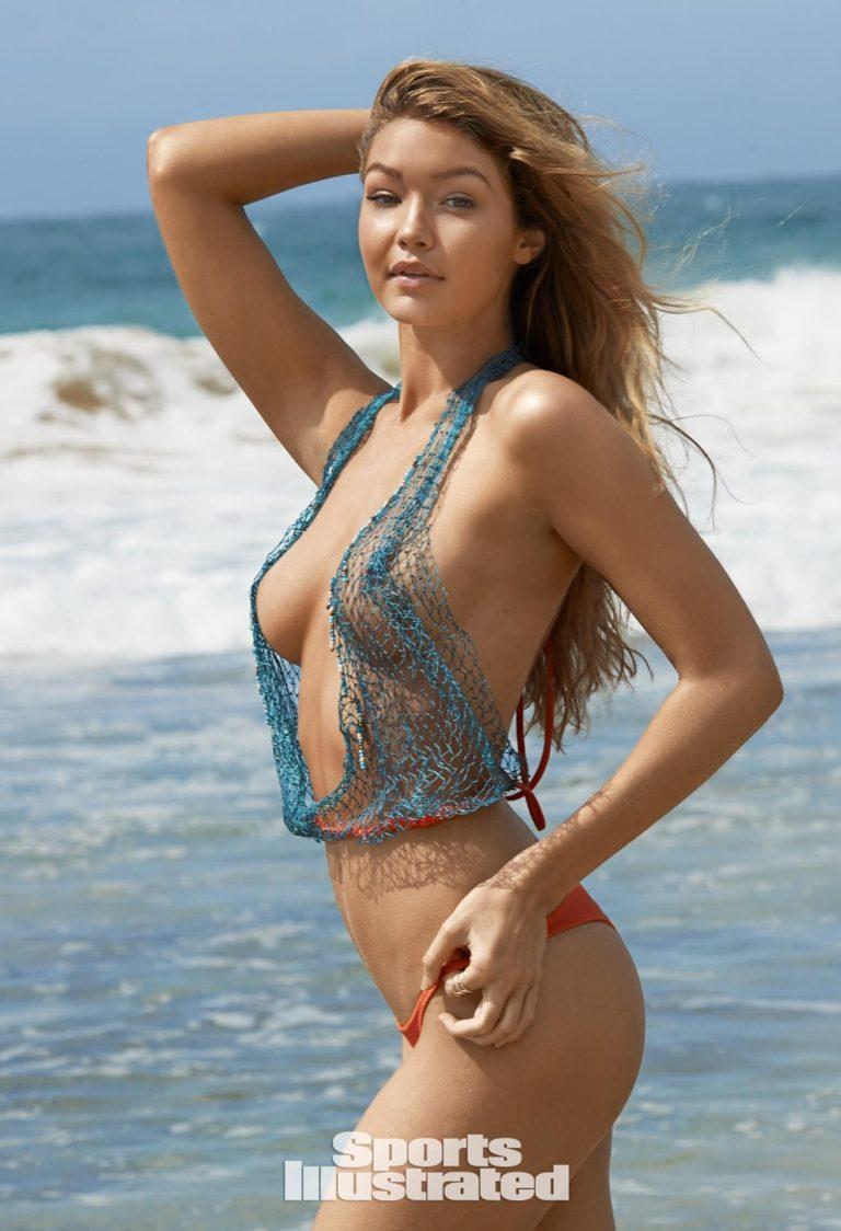 Gigi Hadid hot boobs
