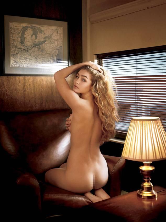 Gigi Hadid nude ass