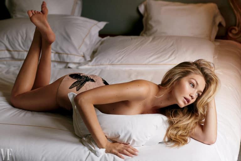 Gigi Hadid topless pic for Vanity Fair