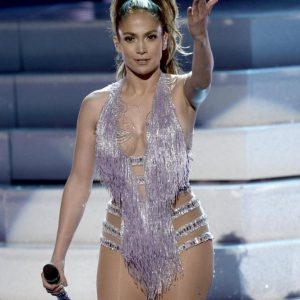 Jennifer Lopez Wears Scandalous Outfit While Performing