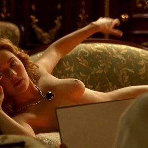 Kate Winslet In The Nude Titanic Scene