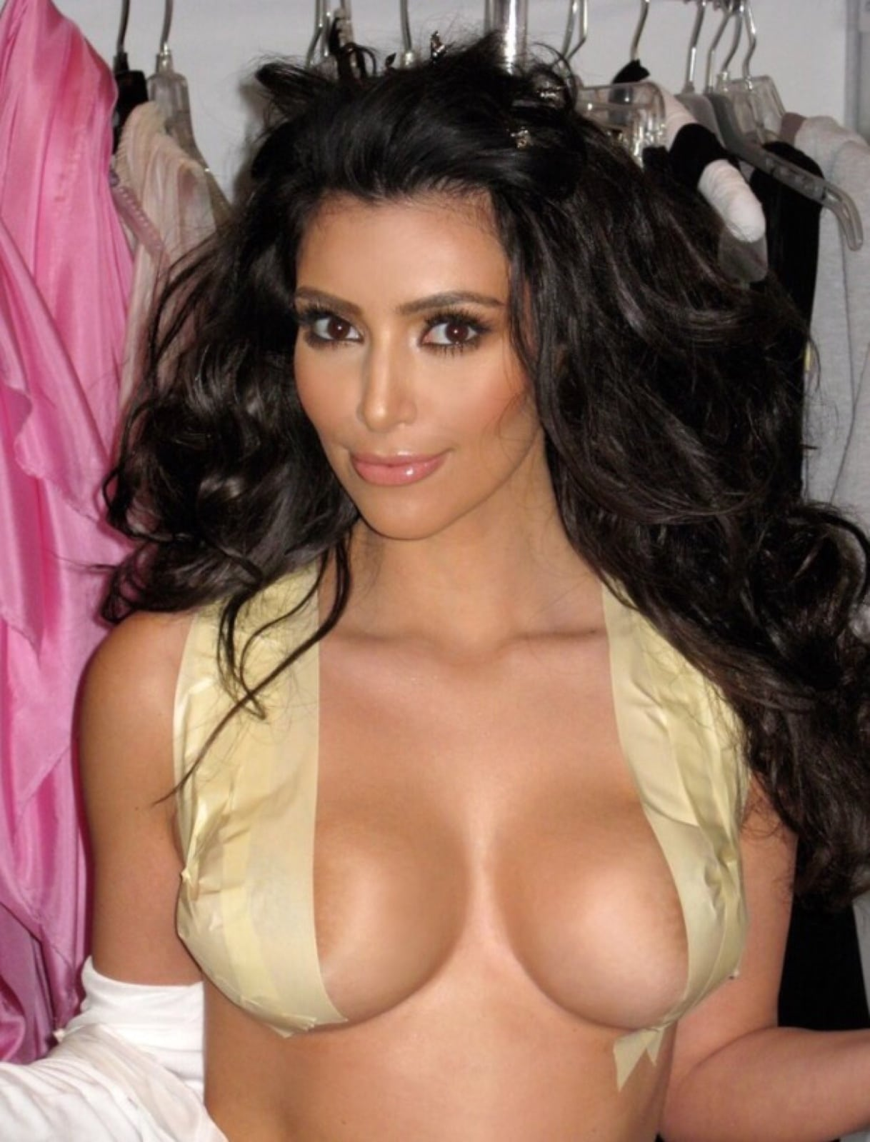 Kim Kardashian Boobs