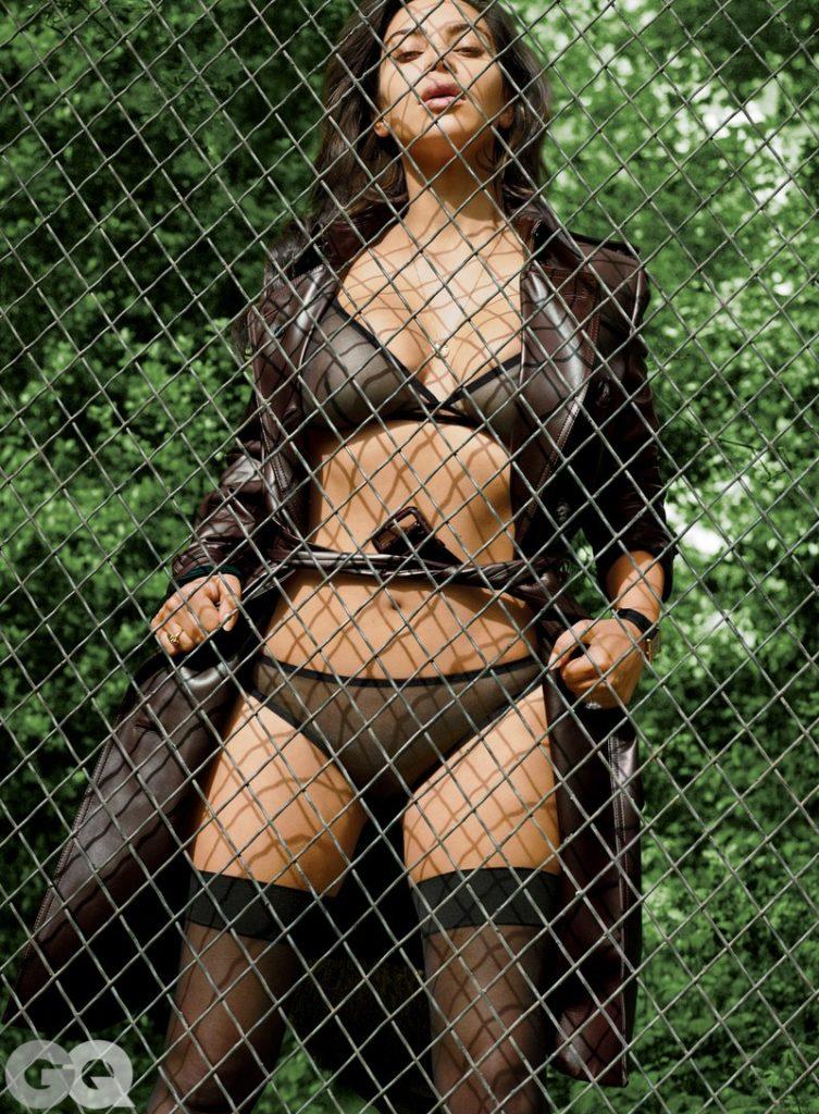 Kim Kardashian revealing GQ images (2)