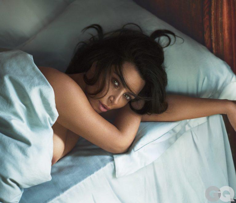 Kim Kardashian revealing GQ images (4)
