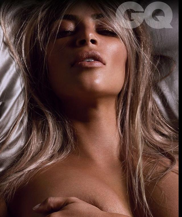Kim Kardashian topless GQ photos (2)