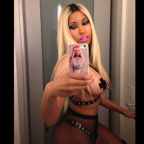 Nicki Minaj Fully Naked Pics