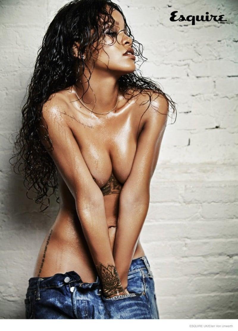 Rihanna Esquire shoot