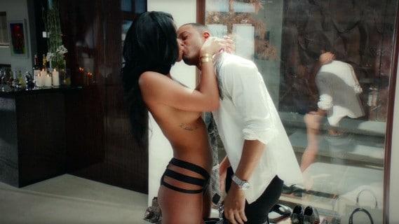 Cassie Ventura Topless In Movie