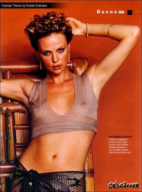 Charlize Theron Nipples Exposed (3)
