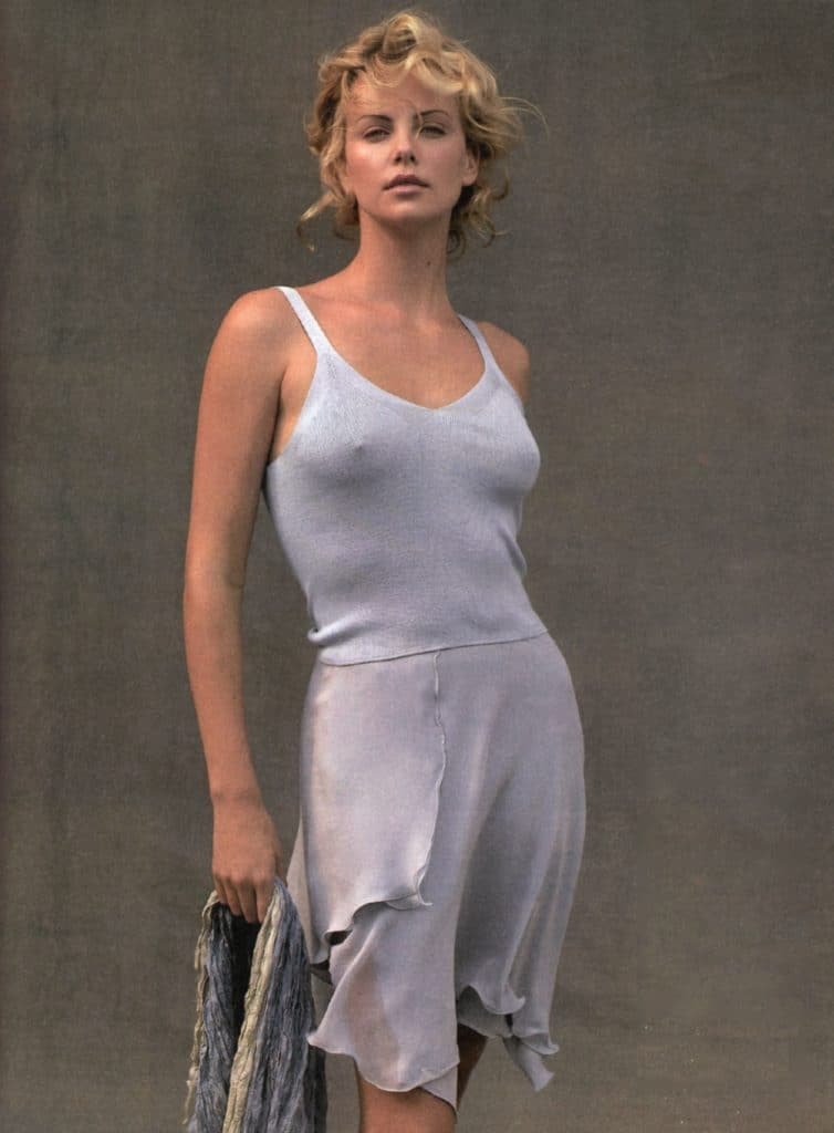 Charlize theron playboy pics
