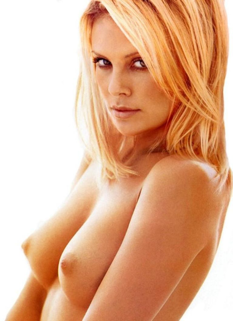 Charlize Theron Nude Topless Pic