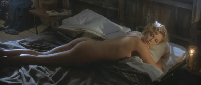 Charlize Theron naked ass in The Cider House Rules