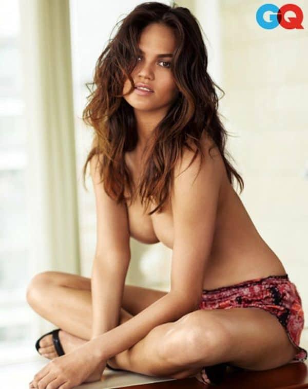 Chrissy Teigen naked topless GQ pics (4)