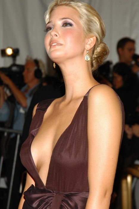 With you ivanka trump sexy breast pics