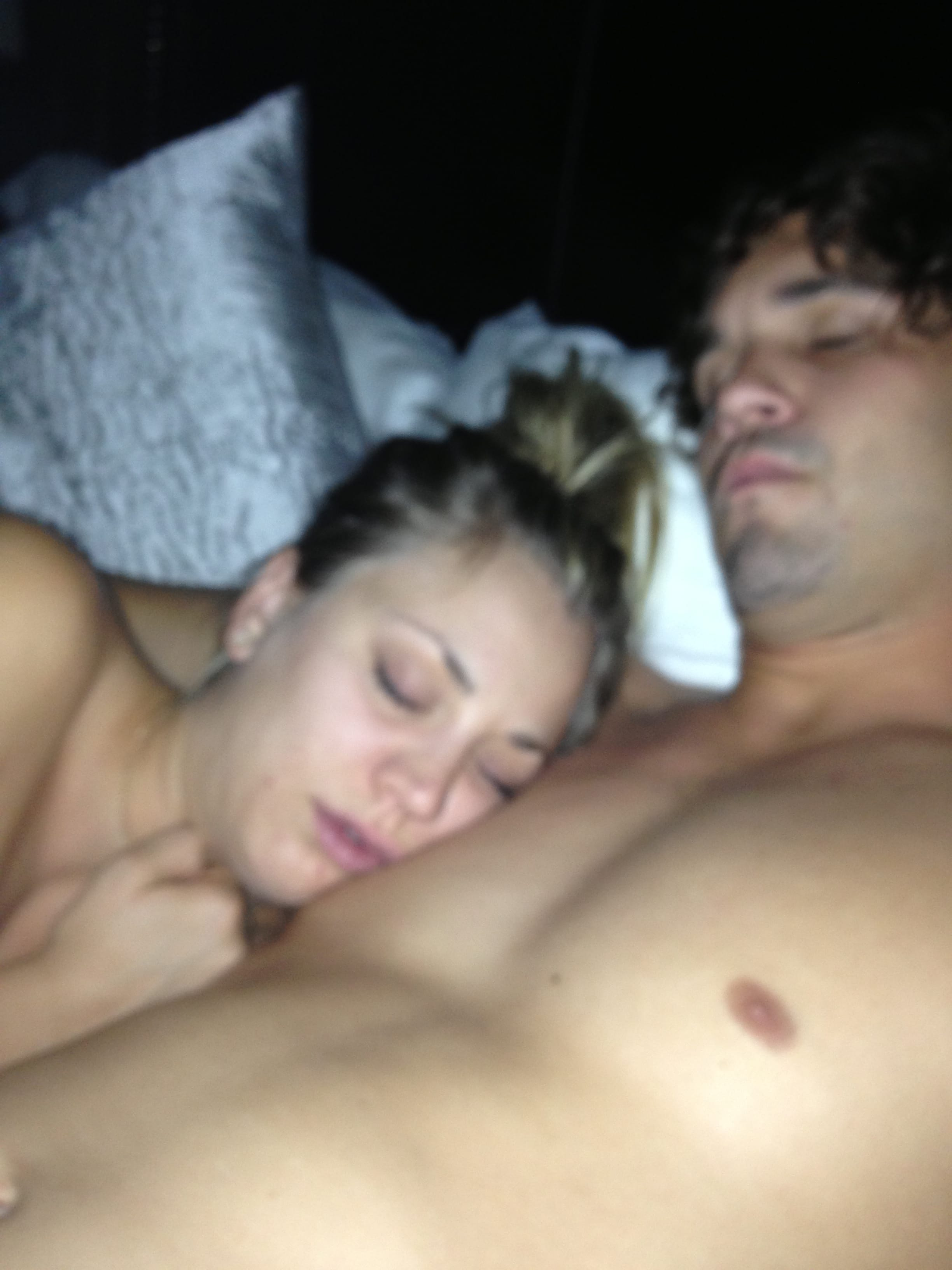 does kaley cuoco have a sex tape