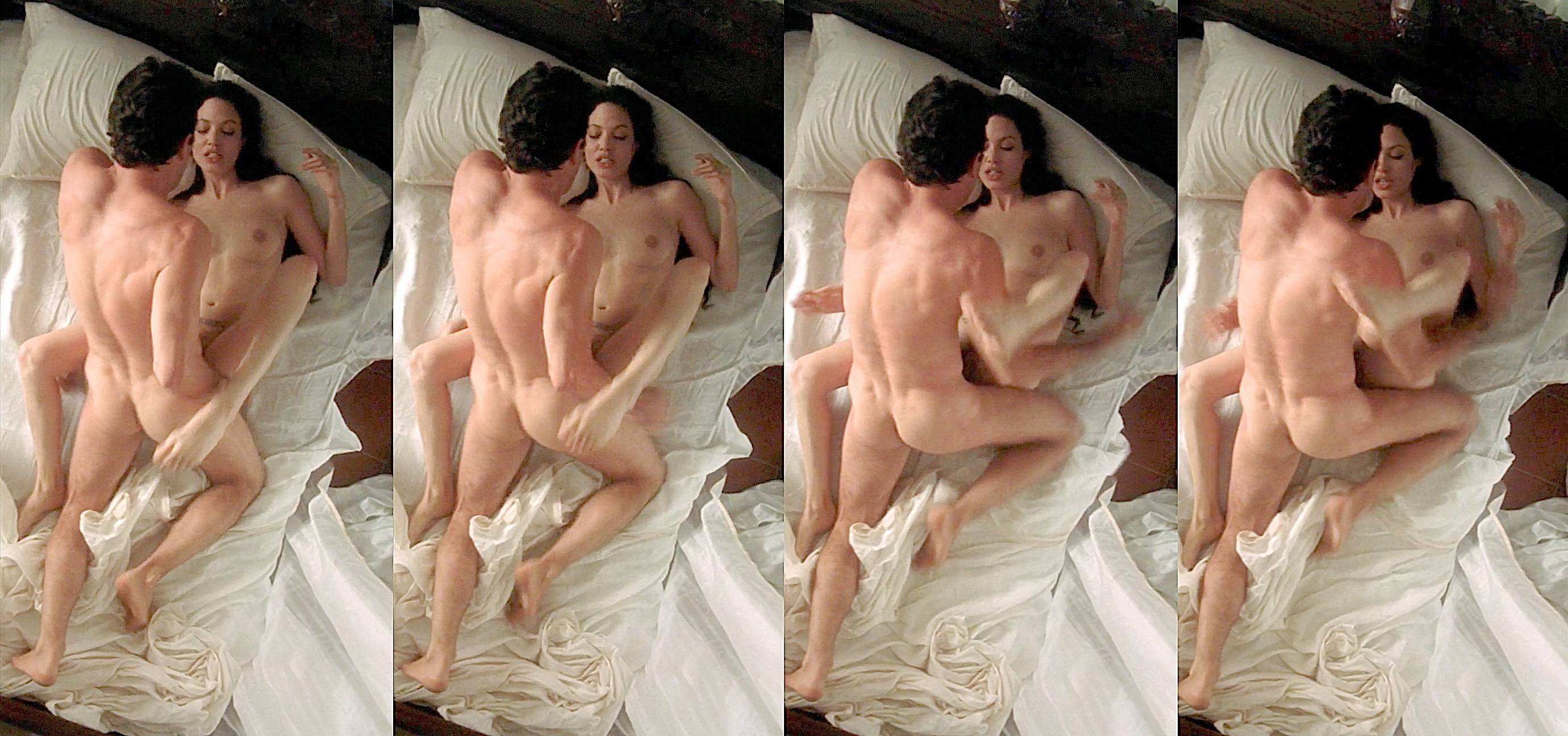 Angelina jolie sex scenes