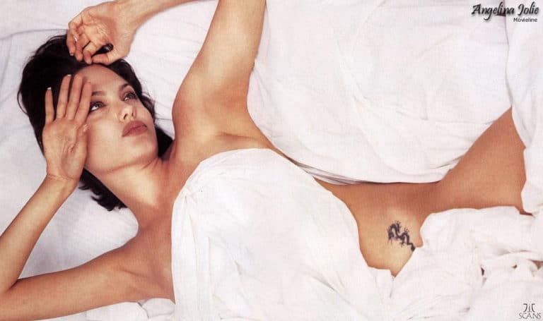 angelina jolie nude photoshoot