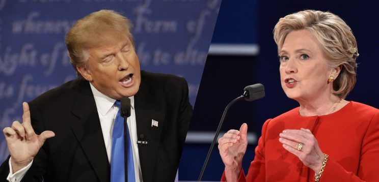 The Hillary Clinton And Donald Trump Debate