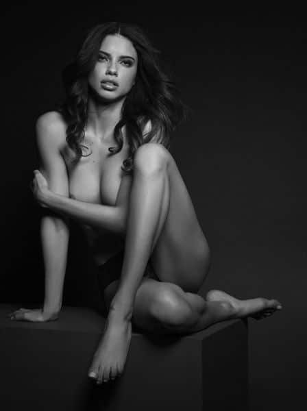 Victoria secret adriana lima naked