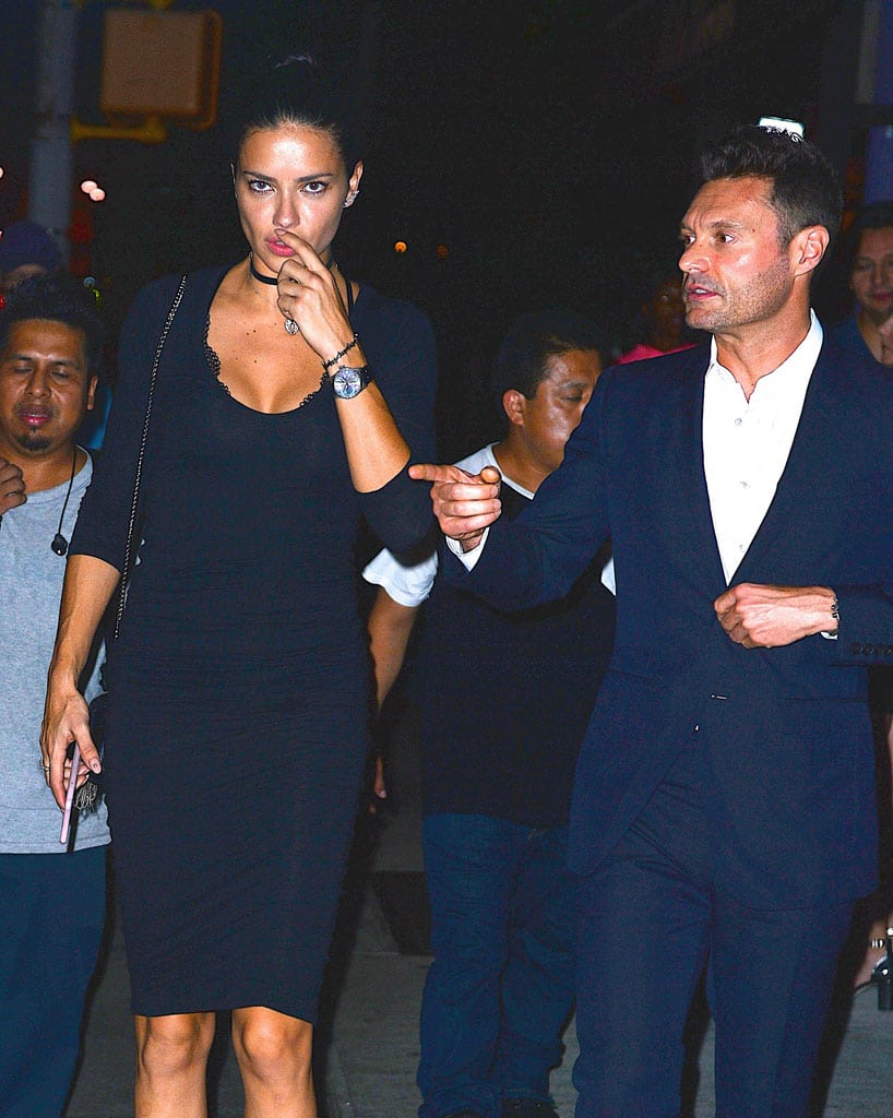 Adriana Lima is spotted with her new man Ryan Seacrest in NYC!