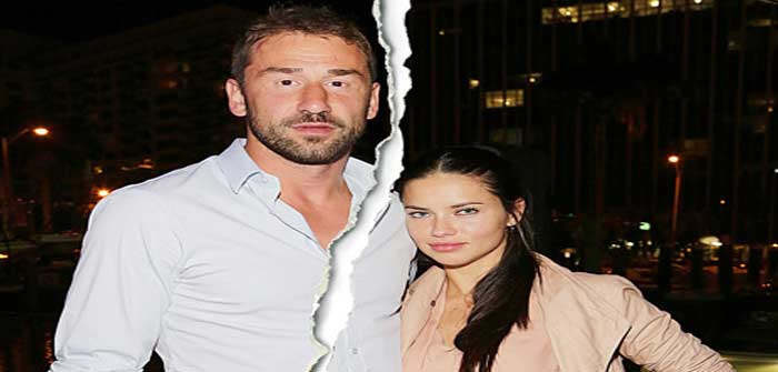 Adriana Lima and ex-husband Marko Jaric