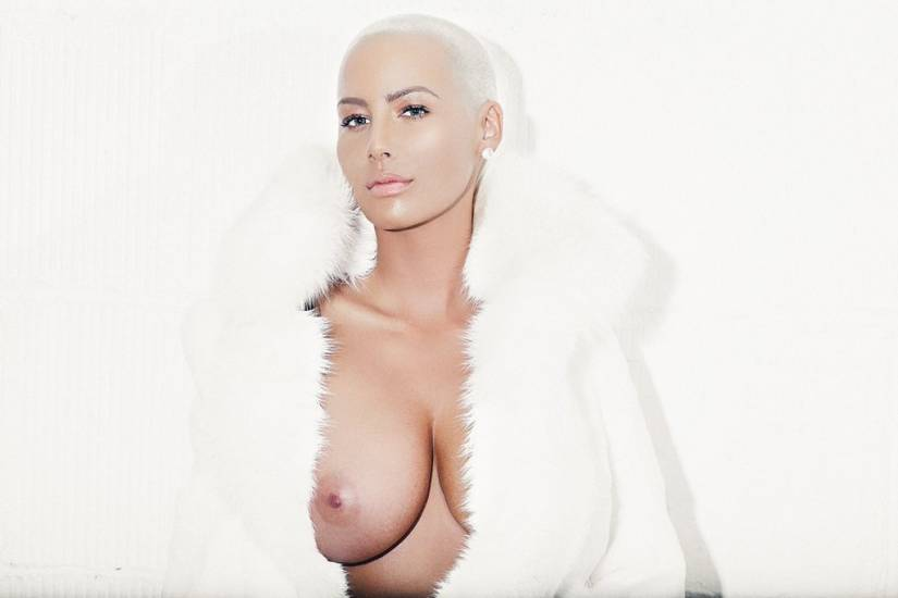 naked celebrities Bald women