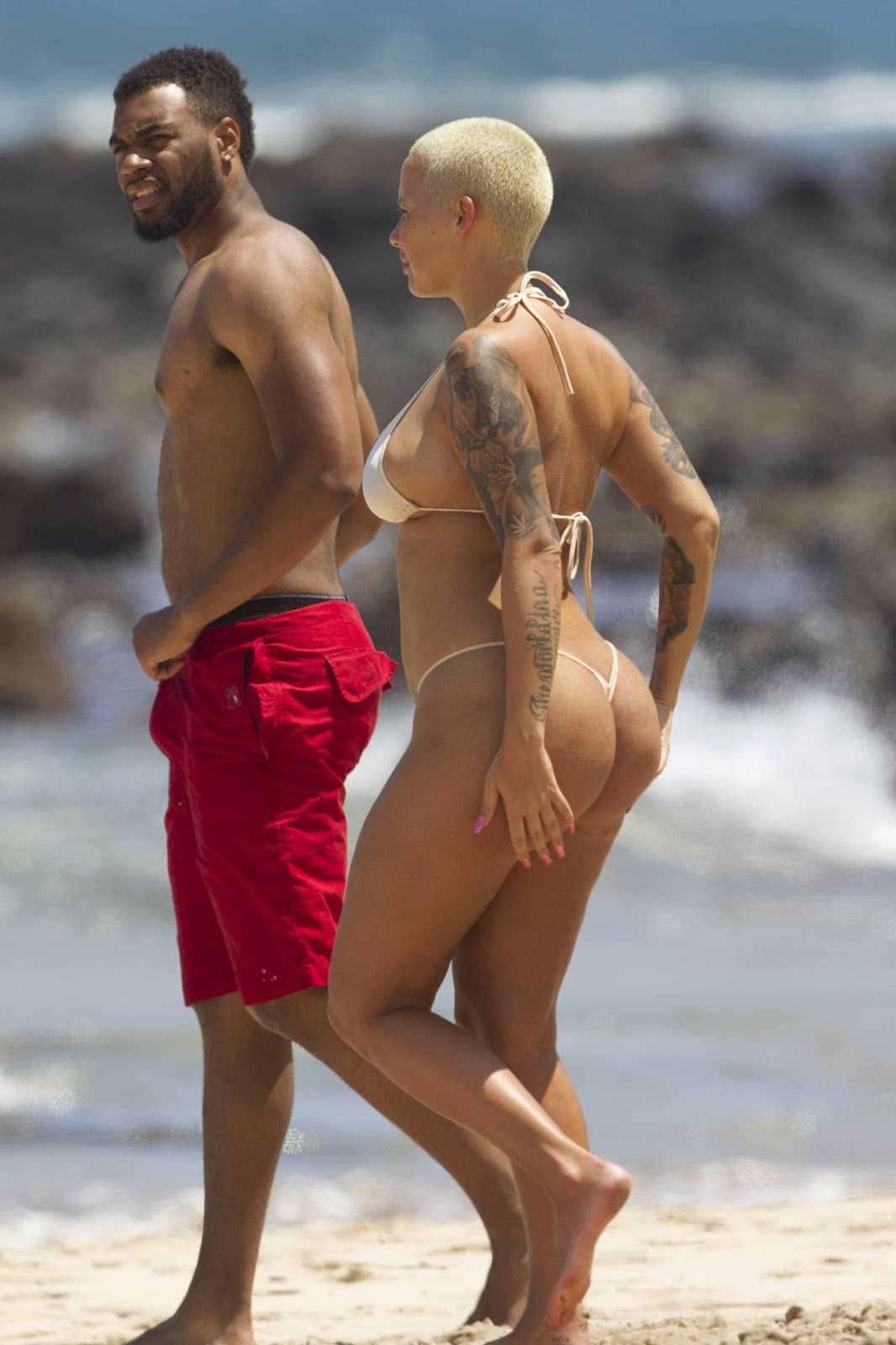 amber rose booty nude