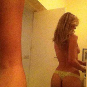 naked selfie of diletta leotta showing ass cheeks