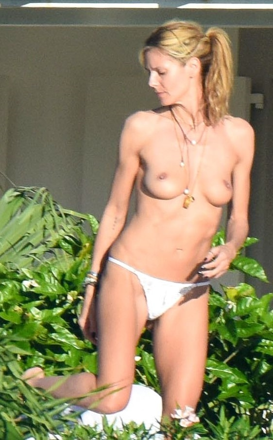Heidi klum hot nude in standing position for that