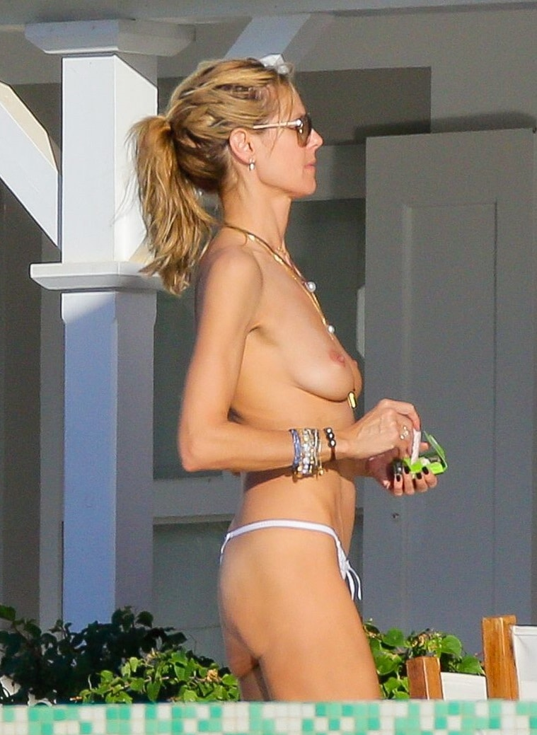 Heidi klum wet naked — photo 13