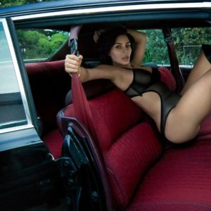 kardashian models nude for gq magazine car pic