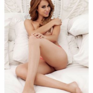 yanet garcia topless in bed