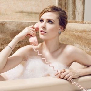 Evan Rachel Wood naked bathtub