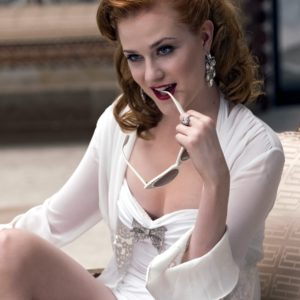 Evan Rachel Wood naughy secretary