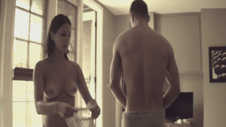 Olivia Munn topless in Magic Mike