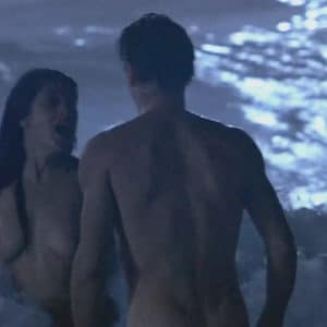 latina salma hayek topless in the ocean