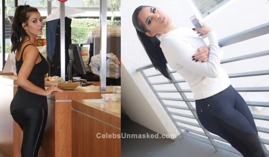 Kim Kardashian & Elizabeth Ruiz Yoga Pants