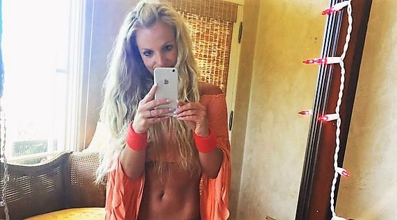 Britney Spears selfie and sex tape rumor exposed