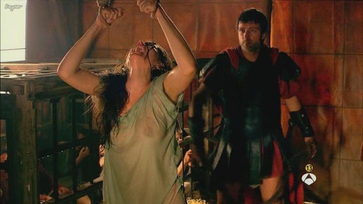 Ana de Armas bare nipples in Hispania La Leyenda (2)