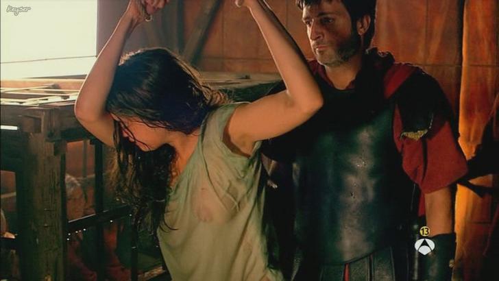 Ana de Armas bare nipples in Hispania La Leyenda (3)