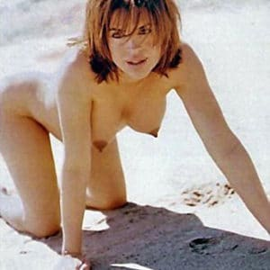 Lisa Rinna hands and knees doggy style
