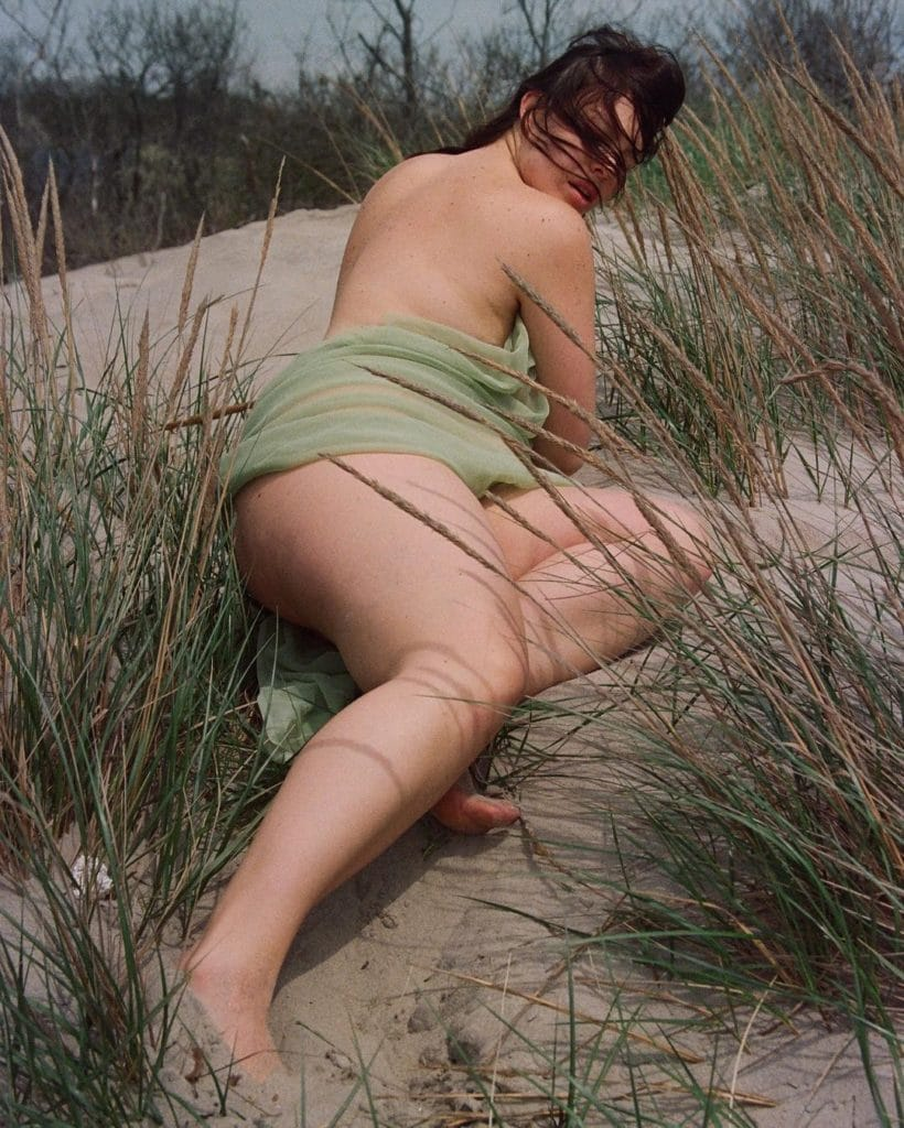 Myla Dalbesio nude on beach