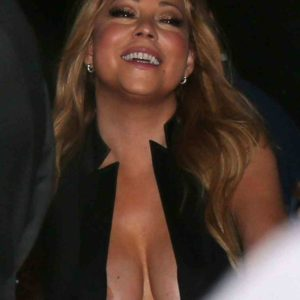 mc's huge cleavage