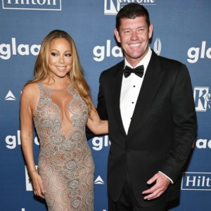 pic of james packer and mariah carey at award show