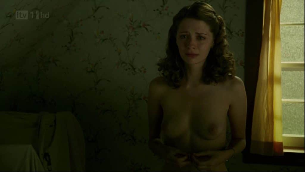 Mischa Barton nude and crying