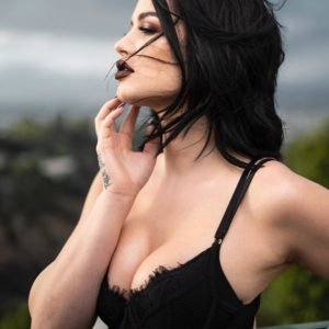 Paige WWE boobs exposed