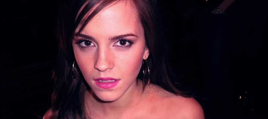 emma watson baring shoulders in leaked photo