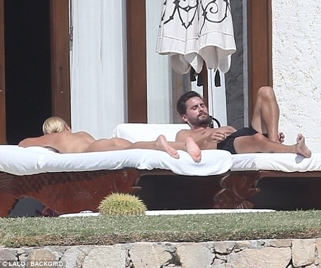 Sofia Richie nude with Scott Disick