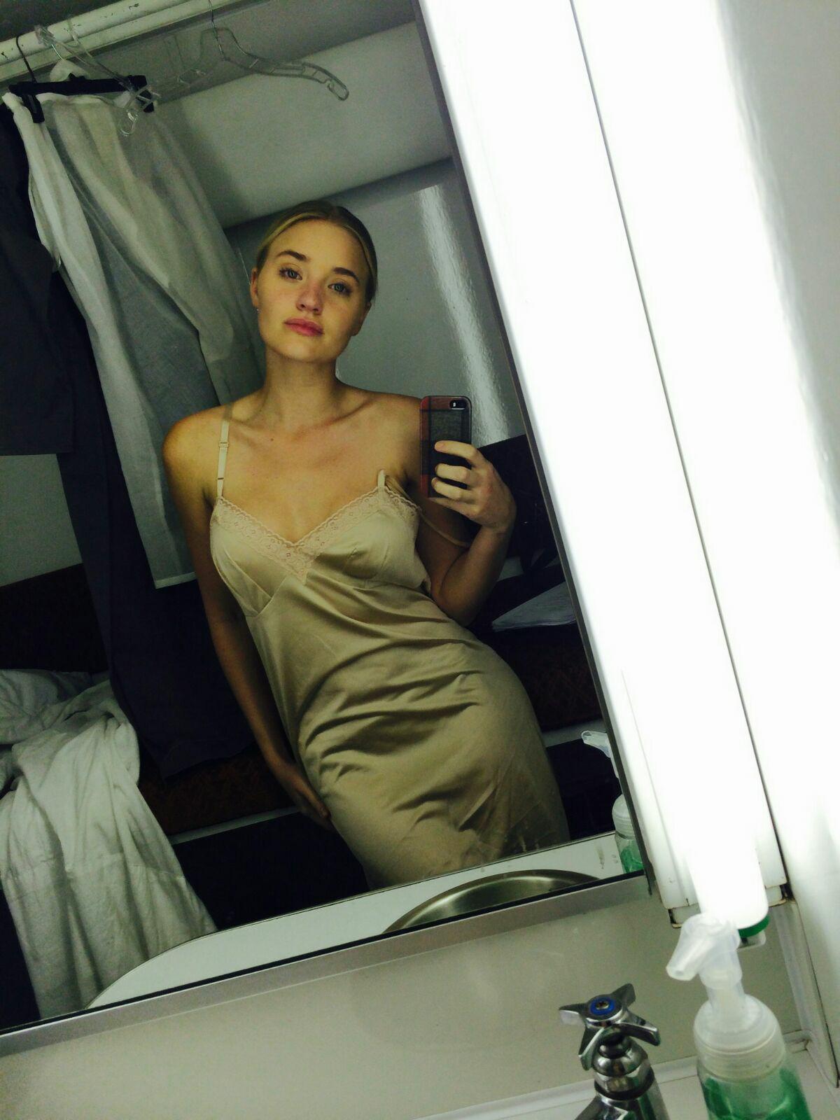 AJ Michalka leaked nude